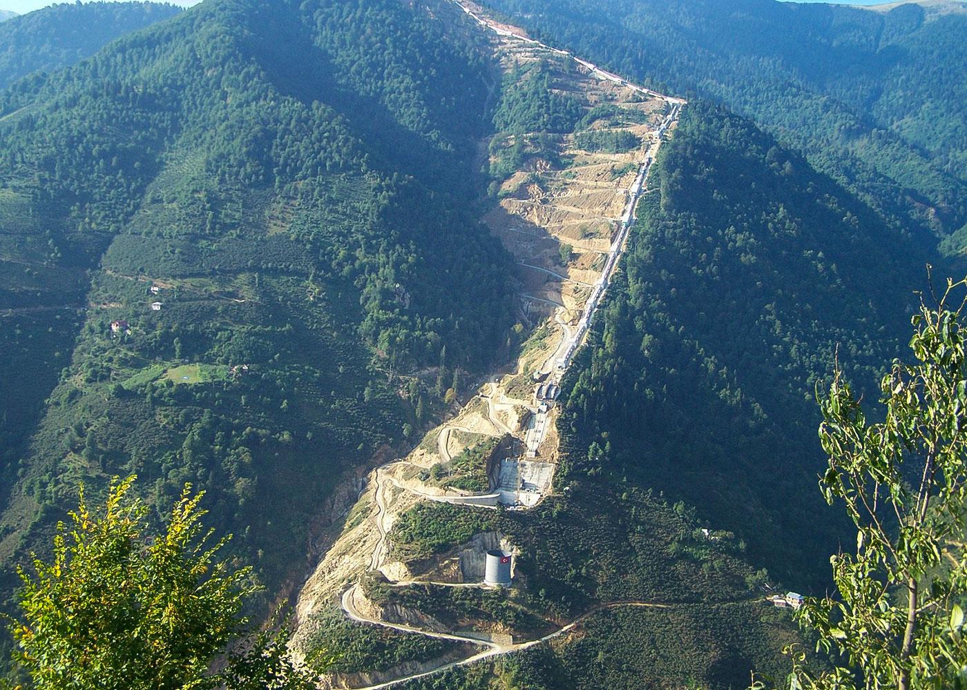 Akkoy II HEPP (2x116 MW, 2012), Giresun / Turkey
