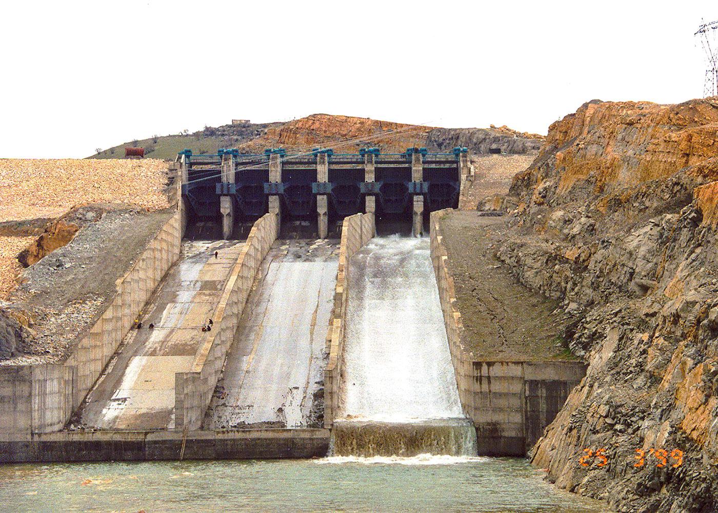 Batman Dam & HEPP (3x63 MW), Diyarbakır / Turkey