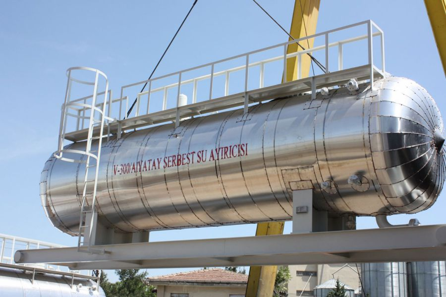 Horizontal Separation of Free Water Tank, Ankara / Turkey