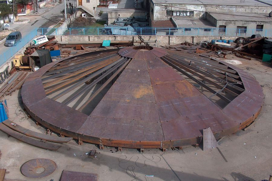 Process Tanks Bad Oil Tank and Fire Fighting Water Tanks for Ratawi, Basrah / Iraq