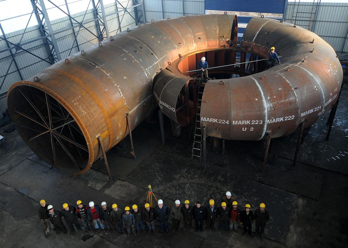 Yedigöze HEPP Project (2x158,5 MW), Adana / Turkey
