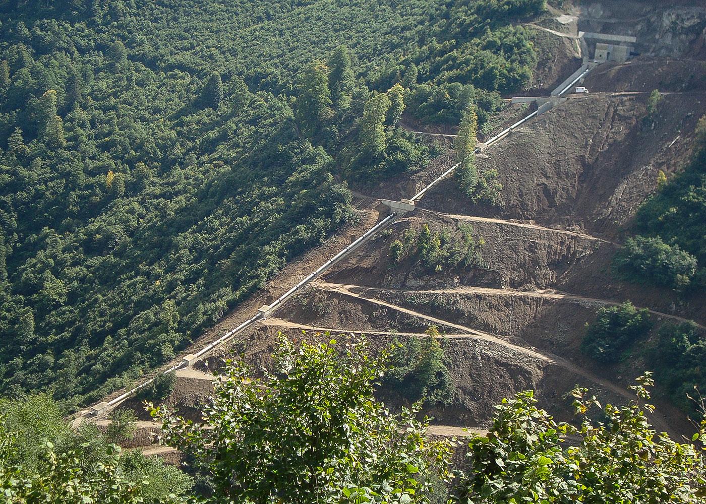 Aksu HEPP Project, Giresun / Turkey