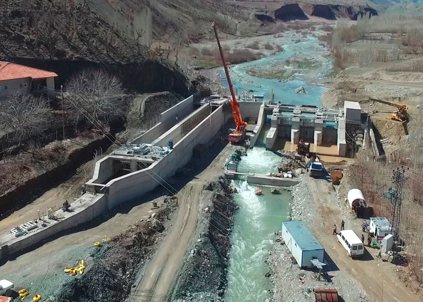 Cağlayan HEPP Project (10 MW), Adıyaman / Turkey