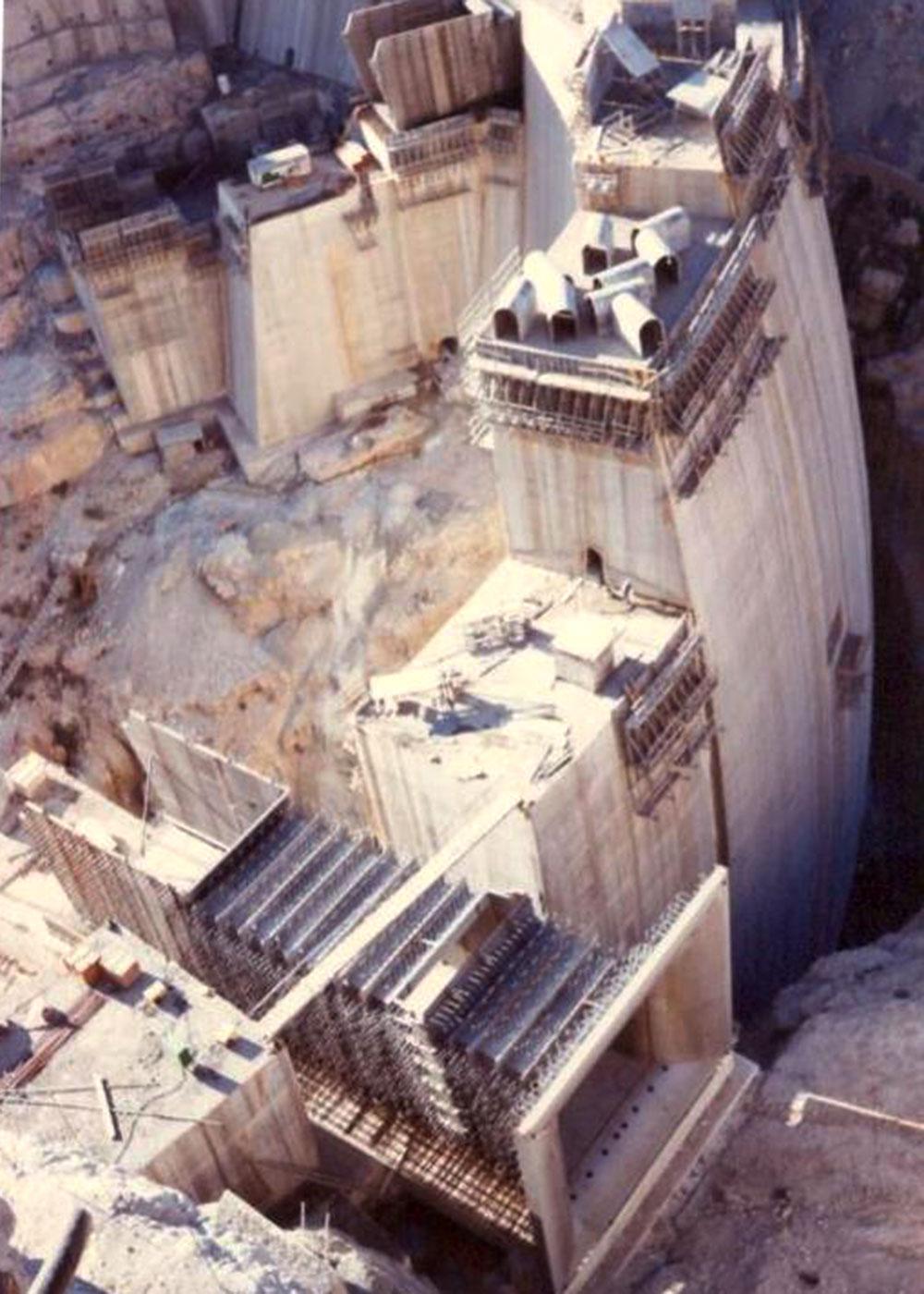 Jiroft Dam & HEPP (2x50 MW), Iran
