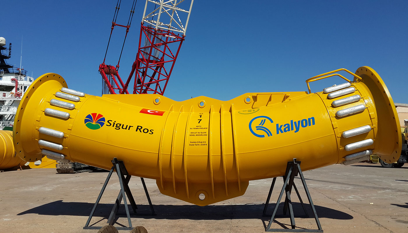Offshore Sub-Marine Pipeline Project, North Cyprus