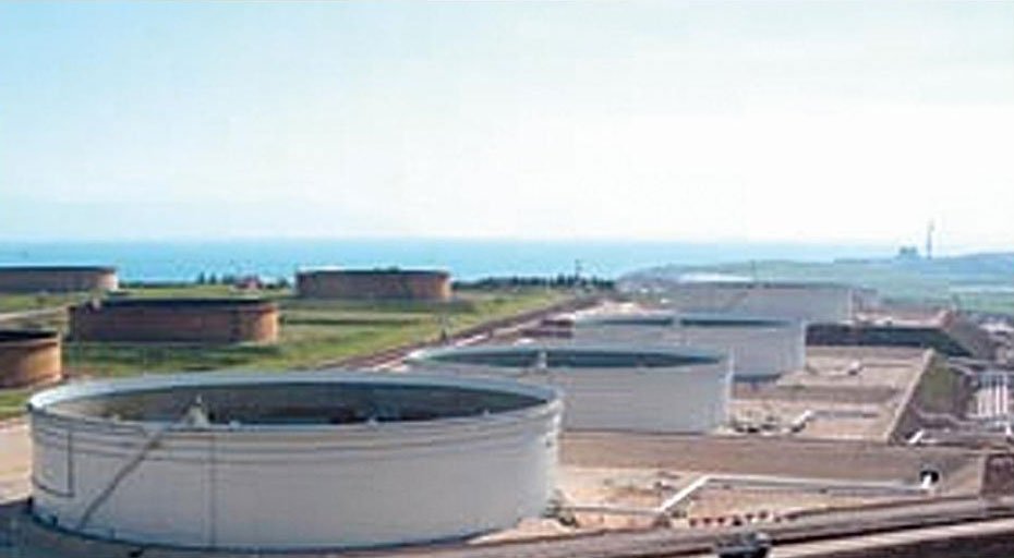 Double Deck Floating Roof Crude-Oil Store Tank for Tuba-Tank Field, Basrah / Iraq