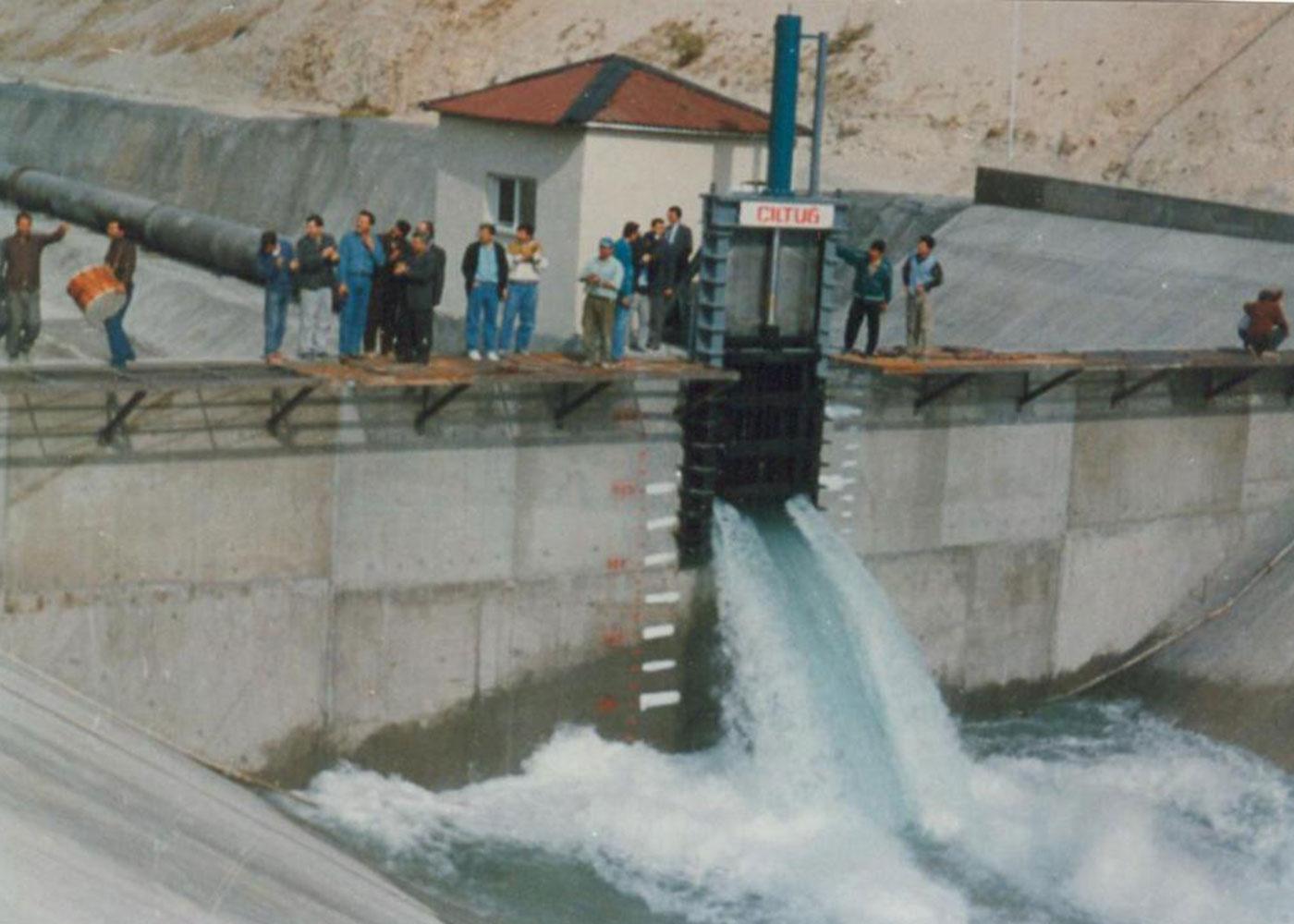 Şanlıurfa Plain Irrigation Project, Şanlıurfa / Turkey