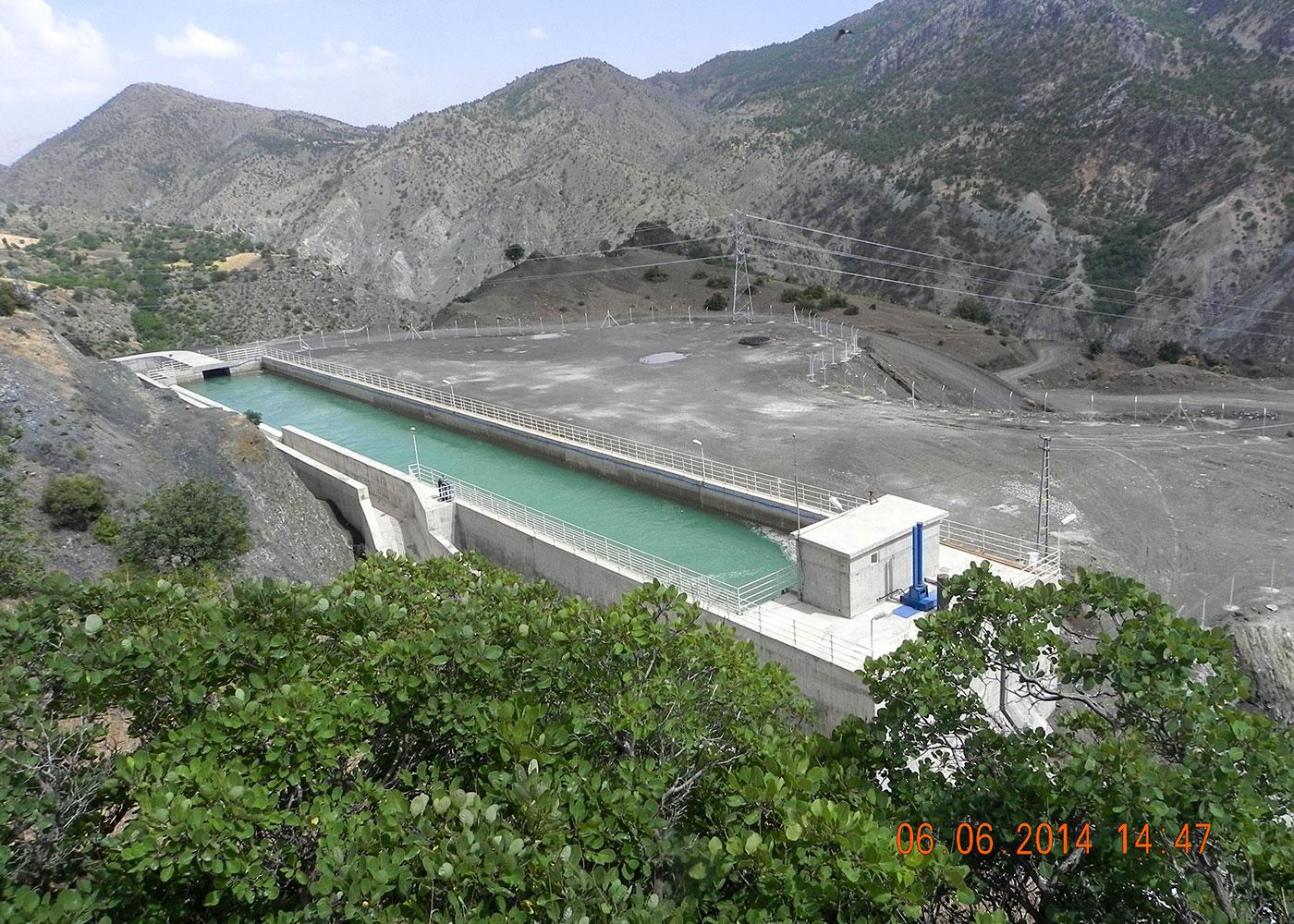 Sırımtaş HEPP (26 MW), Sincik, Adıyaman / Turkey